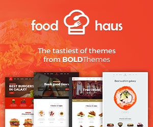 Food Hausl WordPress Theme
