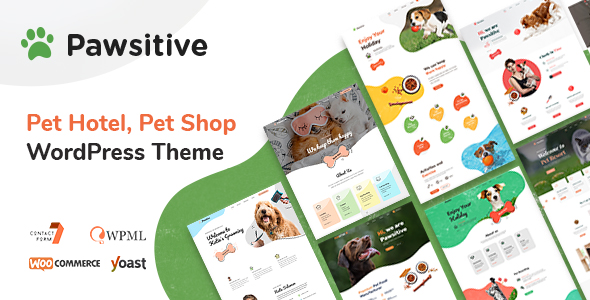 pawsitive wordpress theme for pet business