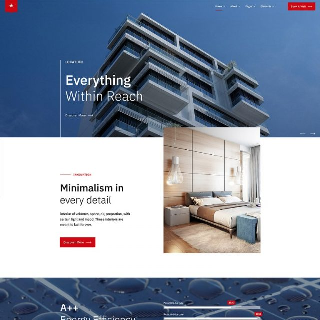 nestin wordpress theme for real estate