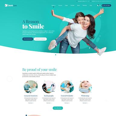 denticare wordpress theme dentist doctor